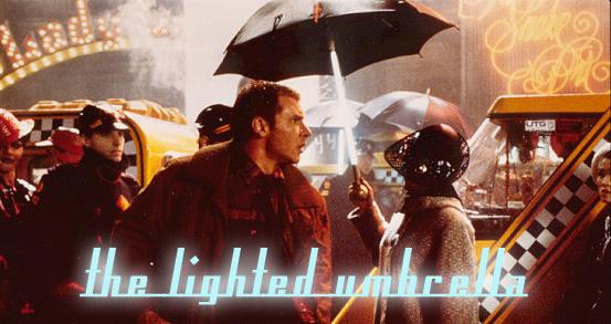 Paraguas Blade Runner