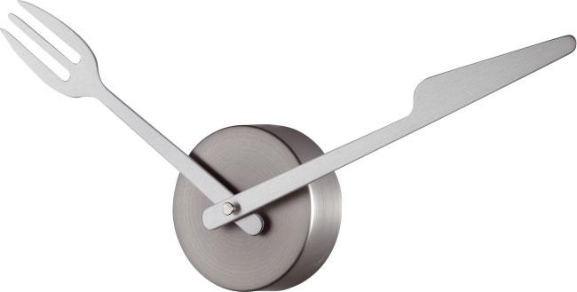 Regalos originales blog archive un original reloj para for Reloj de cocina original