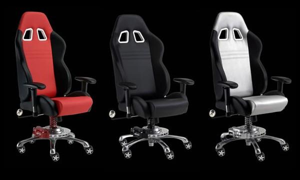 Regalos originales blog archive un silla especial para for Silla de oficina racing