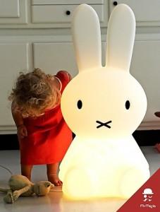 Un conejo blanco en tu habitación