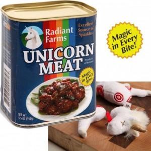 A la rica carne de unicornio