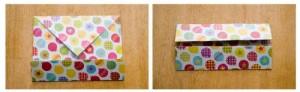 origami cajita lados