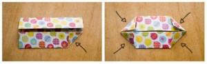 origami cajita picos