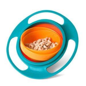 plato antiderrame para niños