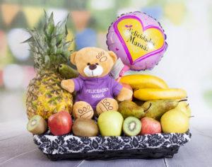 Cesta de frutas mamá