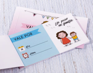 Talonario de regalos para madres